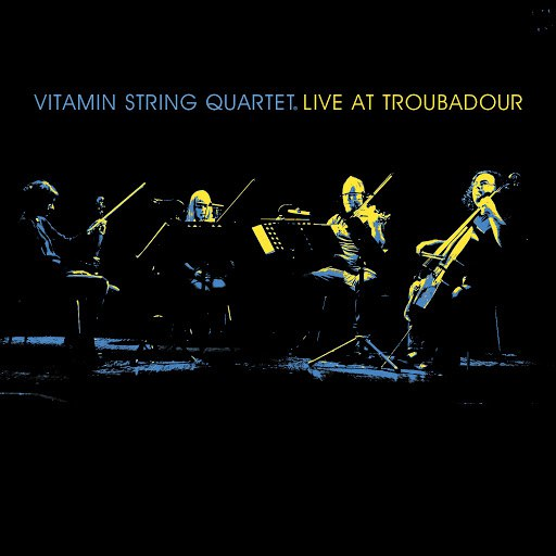 Vitamin String Quartet альбом VSQ Live at the Troubadour