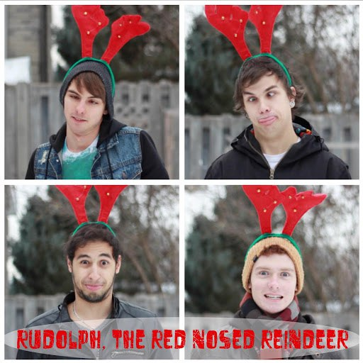 Amasic альбом Rudolph, the Red Nosed Reindeer (Punk Rock Cover)
