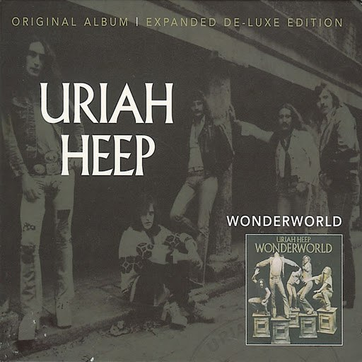 Uriah Heep альбом Wonderworld (Expanded Deluxe Edition)