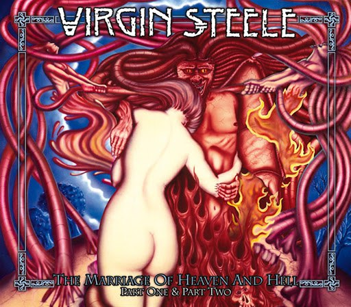 Virgin Steele альбом The Marriage Of Heaven And Hell - Part 1 & Part 2