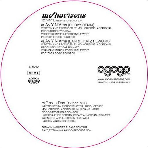 Mo' Horizons альбом Ay Y N'Ama