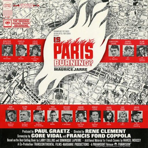 Maurice Jarre альбом Is Paris Burning?