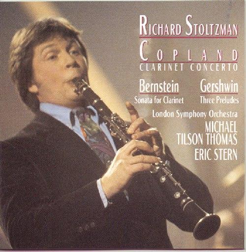 Richard Stoltzman альбом Copland: Clarinet Concerto; Music of Gershwin, Bernstein & Jenkins-Douglas