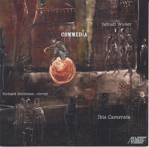 Richard Stoltzman альбом Wyner: Commedia
