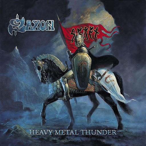 Saxon альбом Heavy Metal Thunder