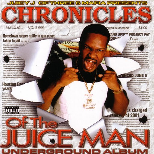 Juicy J альбом Chronicles Of The Juice Man