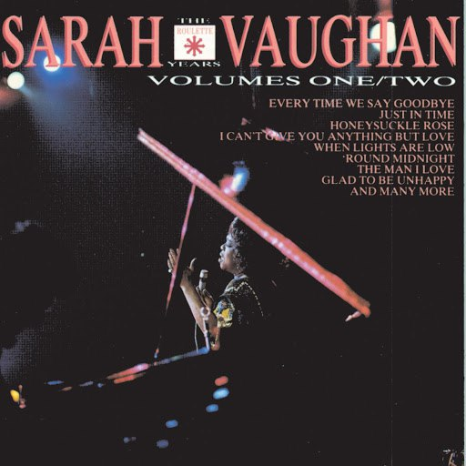 Sarah Vaughan альбом The Roulette Years
