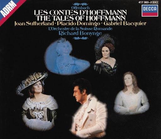 Jacques Offenbach альбом Offenbach: Les Contes d'Hoffman (1971)