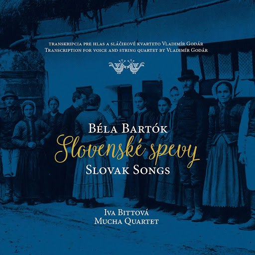 Iva Bittová альбом Slovenské spevy / Slovak Songs