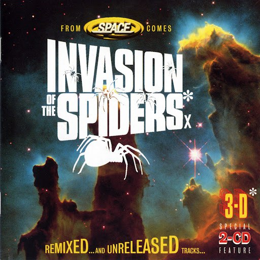 Space альбом Invasion of the Spiders