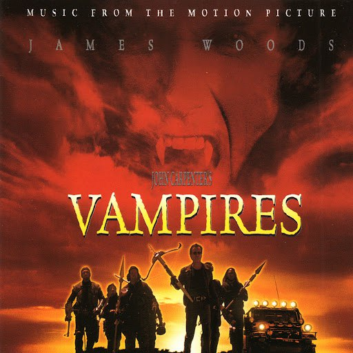 John Carpenter альбом Vampires (Music From The Original Motion Picture Soundtrack)