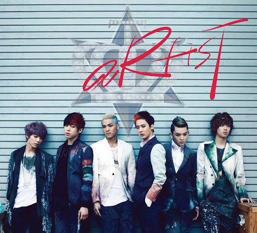 TEEN TOP альбом aRtisT