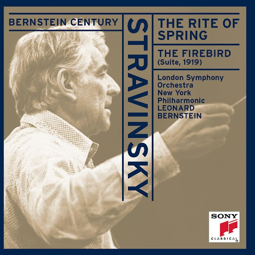 "Leonard Bernstein альбом Stravinsky: The Rite of Spring & Suite from ""The Firebird"""