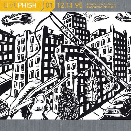 Phish альбом LivePhish, Vol. 1 12/14/95 (Broome County Arena, Binghamton, NY)