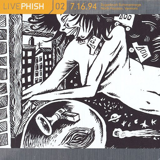 Phish альбом LivePhish, Vol. 2 7/16/94 (Sugarbush Summerstage, North Fayston, VT)