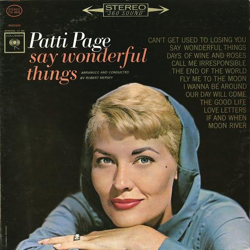 Patti Page альбом Say Wonderful Things