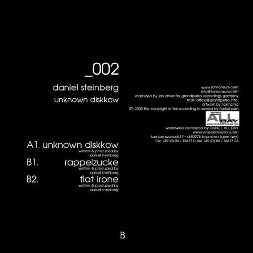 Daniel Steinberg альбом Unknown Diskkow
