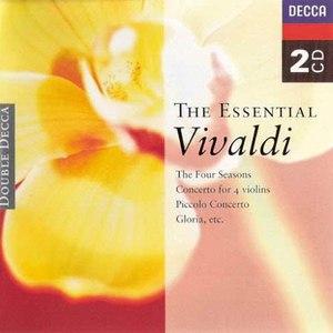 Antonio Vivaldi альбом The Essential Vivaldi