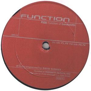 Function альбом F(Q): Function Of Bandwidth