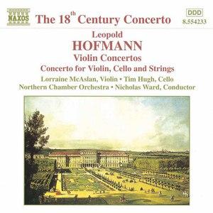Leopold Hofmann альбом HOFMANN: Violin Concertos