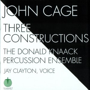 John Cage альбом Three Constructions