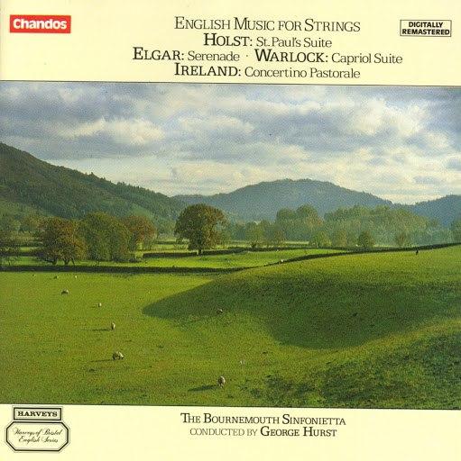 Bournemouth Sinfonietta альбом Holst / Warlock / Elgar / Ireland: English Music for Strings