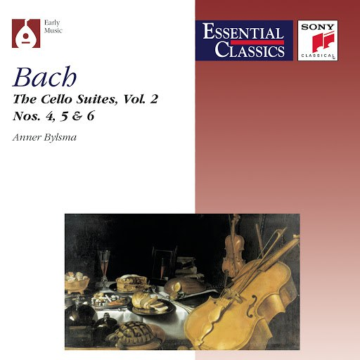 Anner Bylsma альбом Bach: Suites for Violoncello, Vol. 2