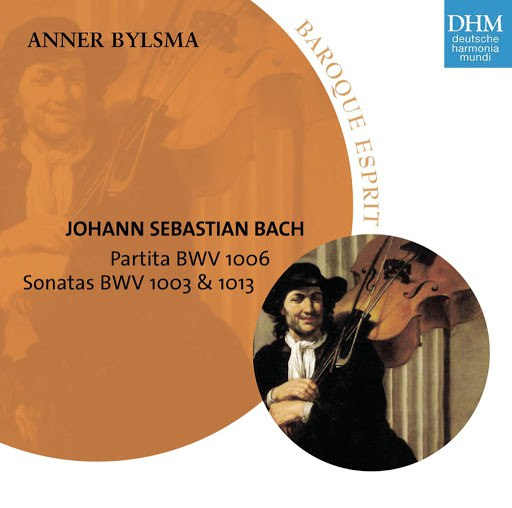Anner Bylsma альбом Bach: Pariata/Sonaten (2)