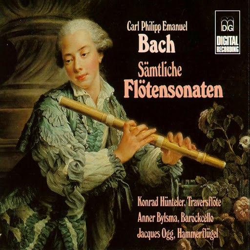 Anner Bylsma альбом C.P.E. Bach: Sämtliche Flötensonaten