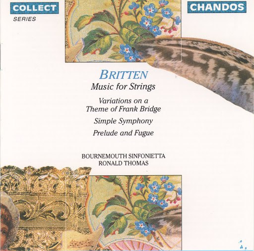 Bournemouth Sinfonietta альбом Britten: Variations On A Theme of Frank Bridge / Simple Symphony / Prelude and Fugue