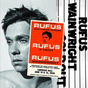 Rufus Wainwright альбом Rufus Does Judy At Carnegie Hall