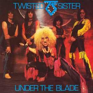Twisted Sister альбом Under The Blade