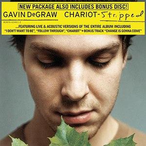 Gavin DeGraw альбом Chariot - Stripped