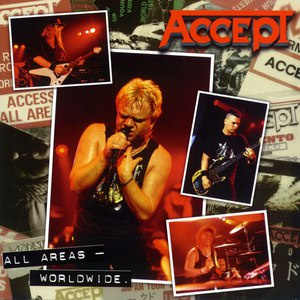 Accept альбом All Areas - Worldwide