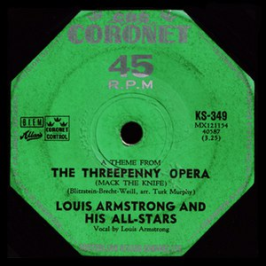 Louis Armstrong альбом Mack The Knife