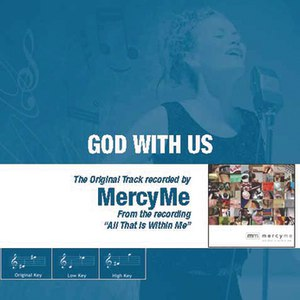 MercyMe альбом God With Us - The Original Accompaniment Track as Performed by MercyMe