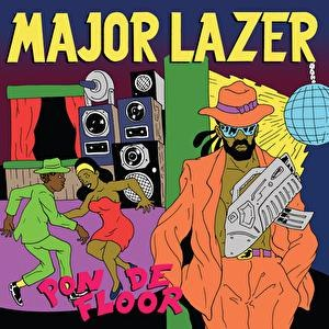 Major Lazer альбом Pon De Floor