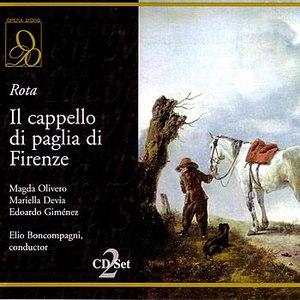 Nino Rota альбом Il cappello di paglia di Firenze (The Florentine Straw Hat)