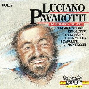 Luciano Pavarotti альбом Live Recordings 1961 - 1967