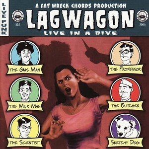 Lagwagon альбом Live In A Dive