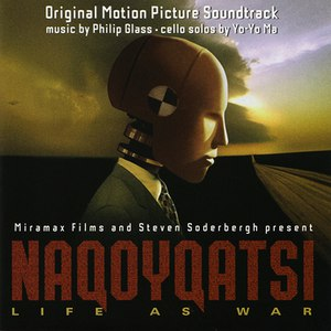 Philip Glass альбом Naqoyqatsi