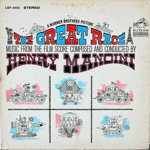 Henry Mancini альбом The Great Race