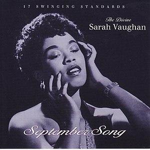Sarah Vaughan альбом September Song