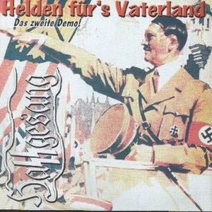 Hassgesang альбом Helden für's Vaterland