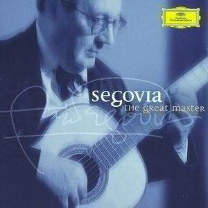Andrés Segovia альбом Segovia: The Great Master