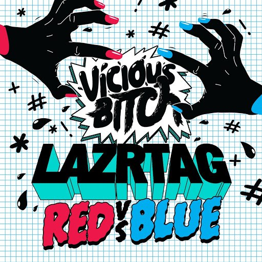 LAZRtag альбом Red vs Blue