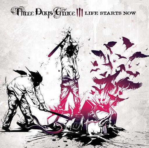 Three Days Grace альбом Life Starts Now