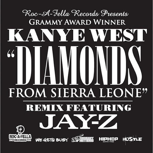 Kanye West album Diamonds From Sierra Leone Remix