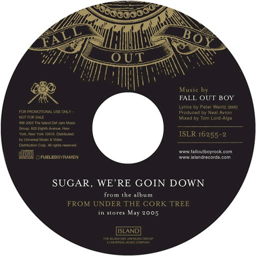 Likely. Most Lyrics for sugar we re going down swinging with