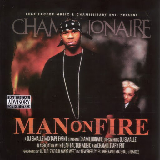 Chamillionaire альбом Man On Fire